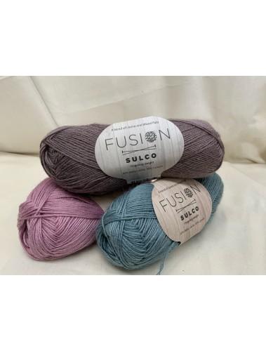 Sulko Shawl Kit Sample colour