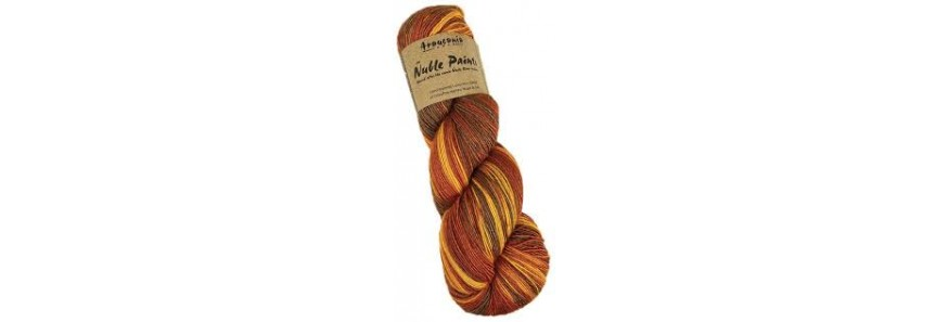 Araucania Nuble Paint 4 ply