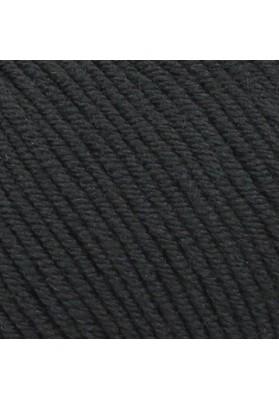 Bellissimo 8 Extra Fine merino 8 ply Black