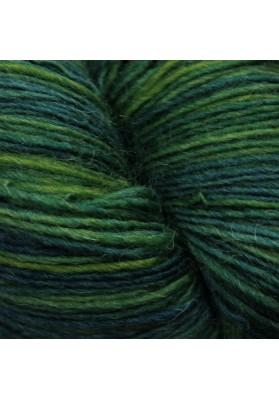 Karens Lace Shawl Kit Green