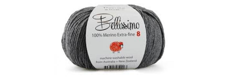Bellissimo Extra Fine Merino 8ply
