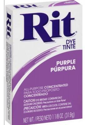 Rit Clothing Dye Purple