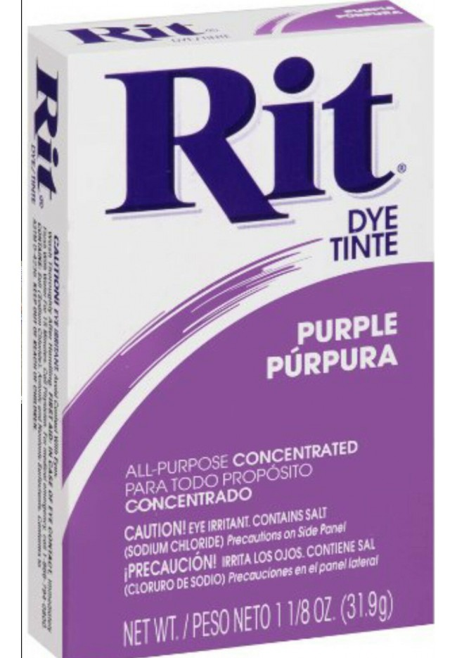 Rit Clothing Dye Purple