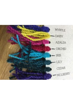 Wool Dye daisy