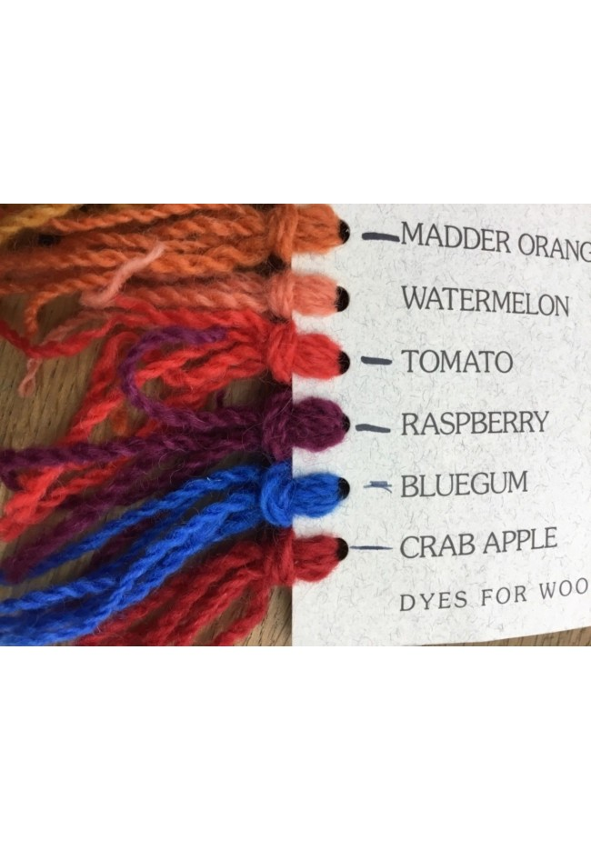 Wool Dye Crab apple