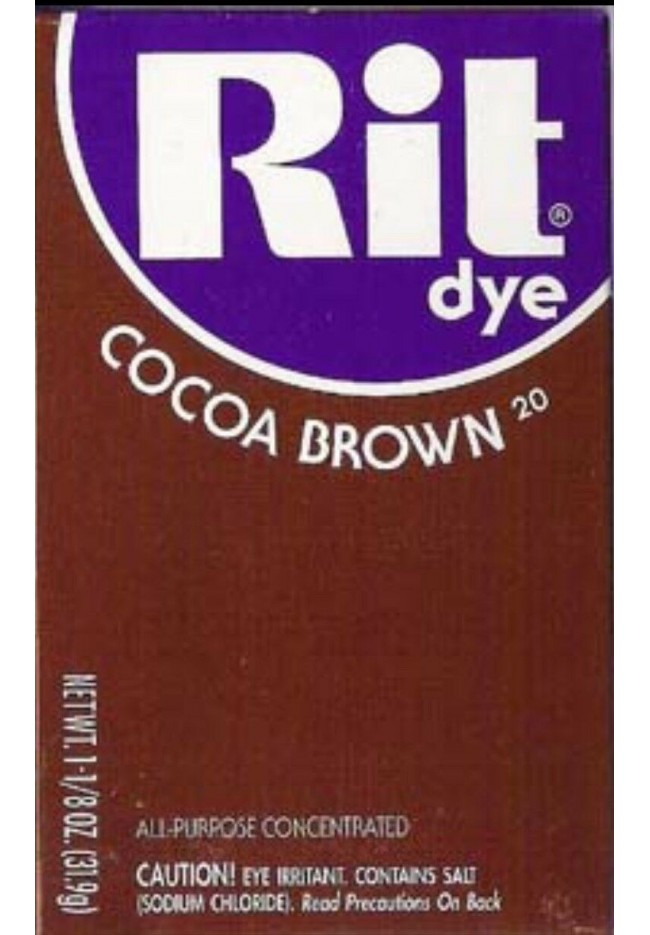 Rit Clothing Dye Cocoa brown