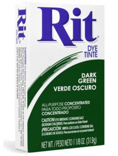 Rit Clothing Dye Dark Green