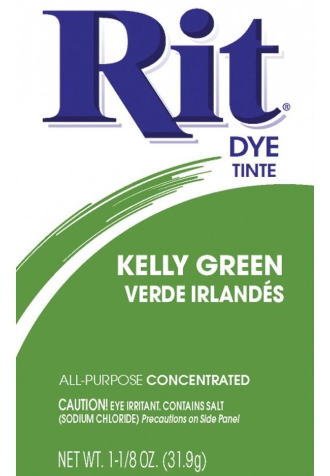 Rit Clothing Dye Kelly Green
