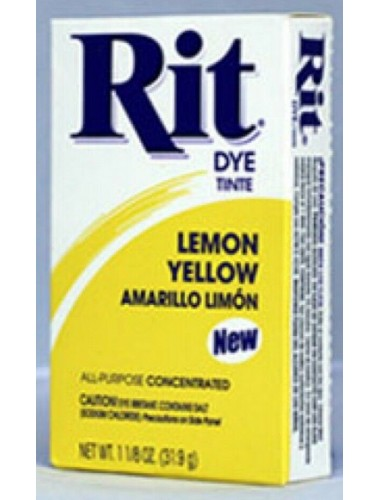 Rit Clothing Dye Lemon Yellow