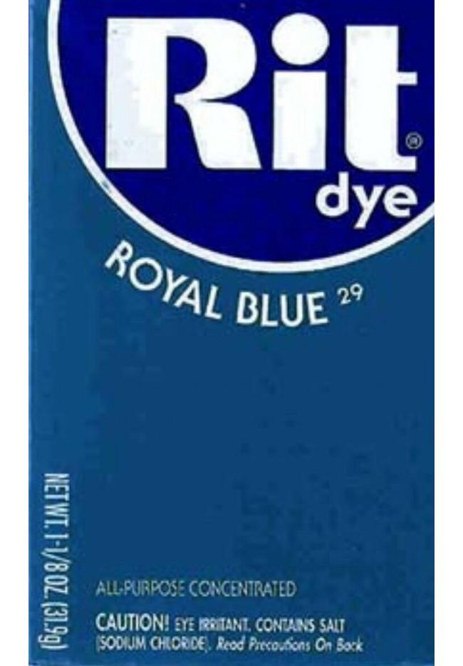 Rit Clothing Dye Royal Blue