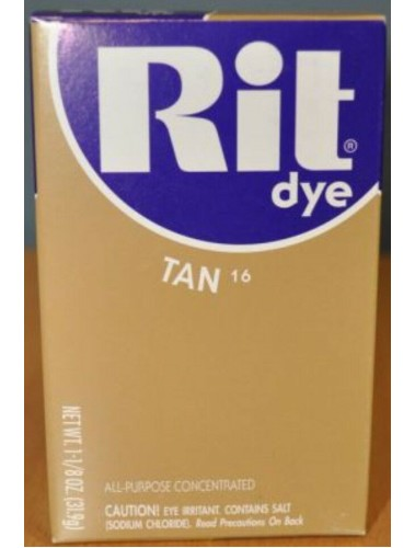 Rit Clothing Dye Tan