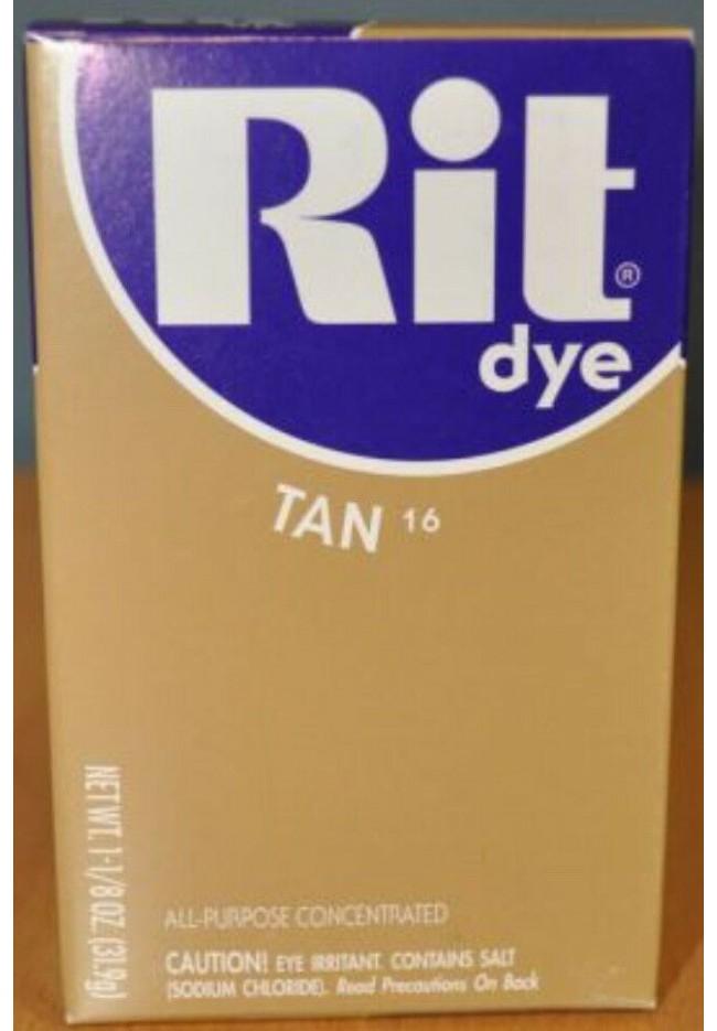 Rit Clothing Dye Tan