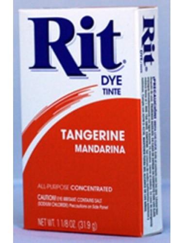Rit Clothing Dye tangerine