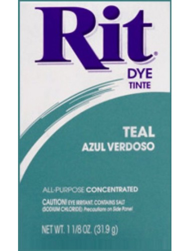 Rit Clothing Dye Teal