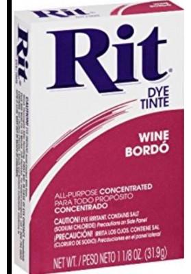 Rit Clothing Dye  Wine