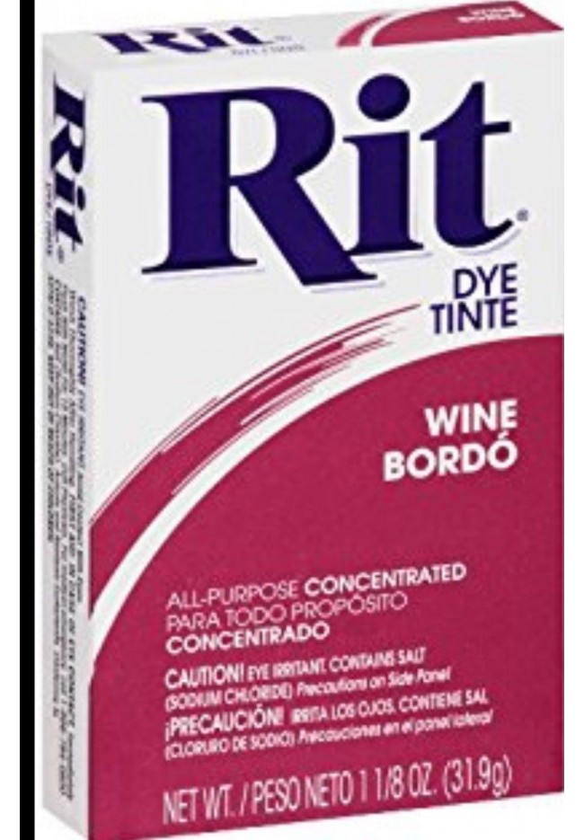 Rit Clothing Dye  Wine