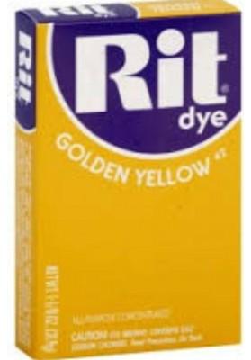 Rit Clothing Dye  Golden yellow