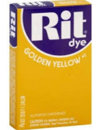 Rit Clothing Dye  Golden yellow