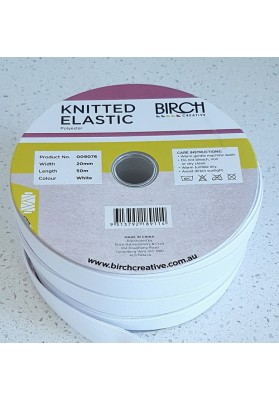 Elastic knitted 12mm (min 3m)