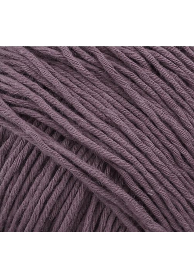 Cottonwood organic 8 ply cotton  plum 52