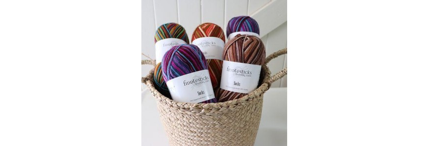 Fiddlesticks Sock yarns