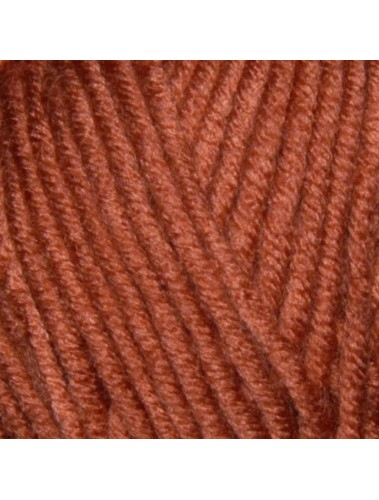 Big Cable Scarf Kit Rust