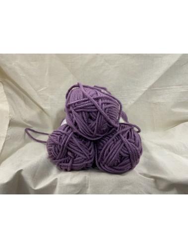 Big Weave Blanket kit Dusty Purple