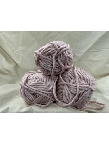 Big Weave Blanket kit Dusty Pink