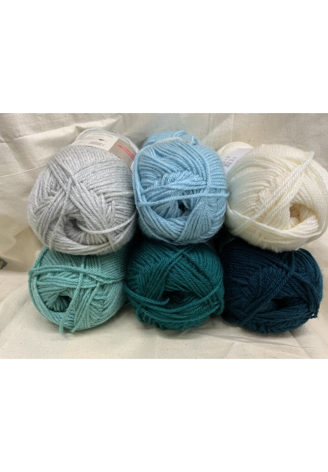 Ombre Blanket Kit Ocean