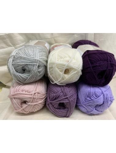 Ombre Blanket Kit Purple Dream