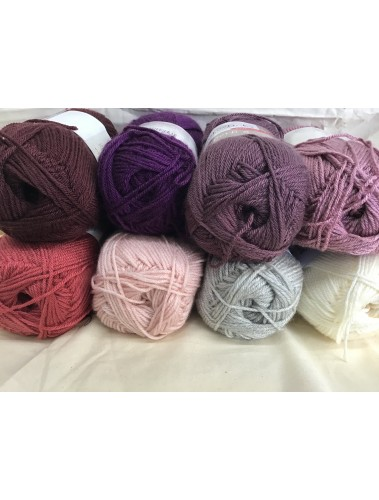 Bavarian Crochet Kit - Pinks and purples