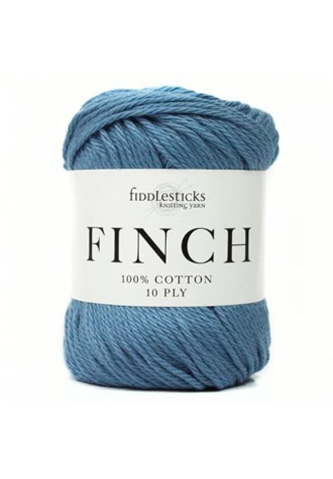 Fiddlesticks Finch 10ply Blue jeans