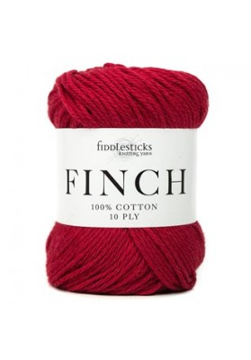 Fiddlesticks Finch 10ply Red
