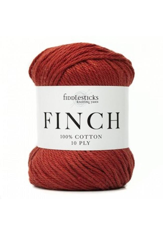 Fiddlesticks Finch 10ply Terracotta