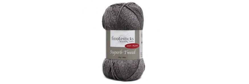 Superb Tweed 12 ply