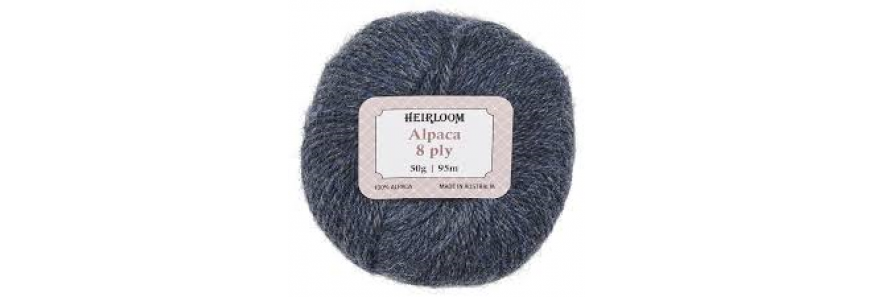 Heirloom Alpaca 8 ply