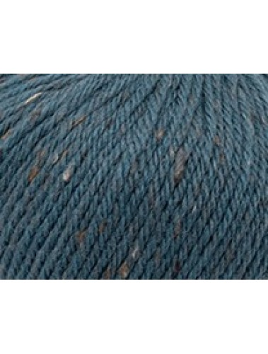 Merino Fleck 8ply Denim