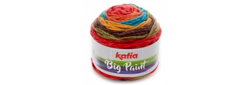 Katia Big Paint hat kit - knit or crochet