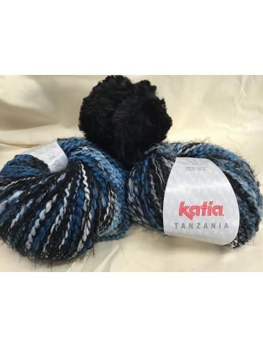 Sarabi Poncho Kit Blue