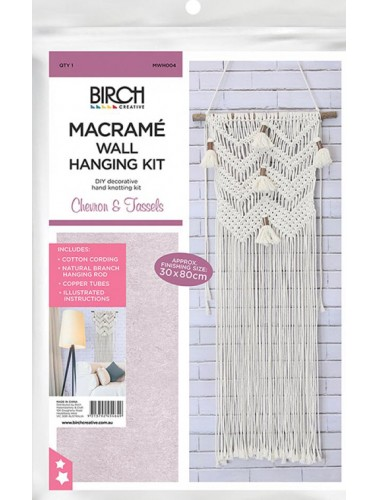 Macrame Kit Chevron tassles