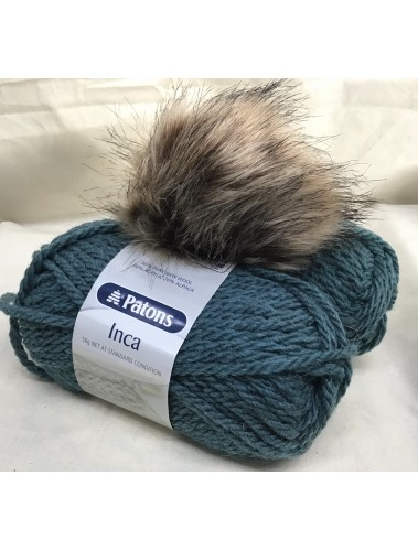 Pom Pom Hat kit Teal