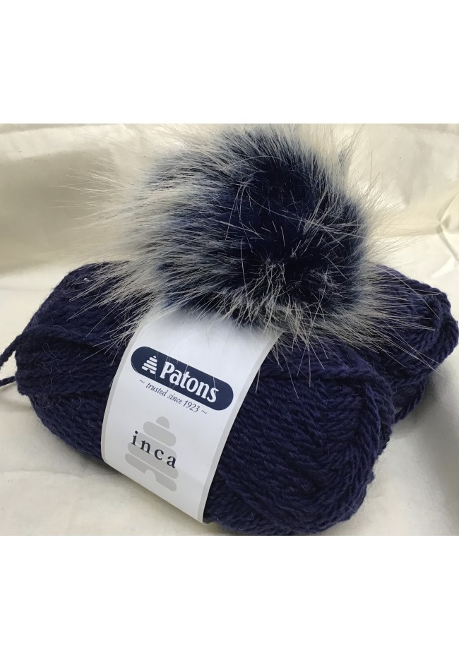 Pom Pom Hat kit Navy