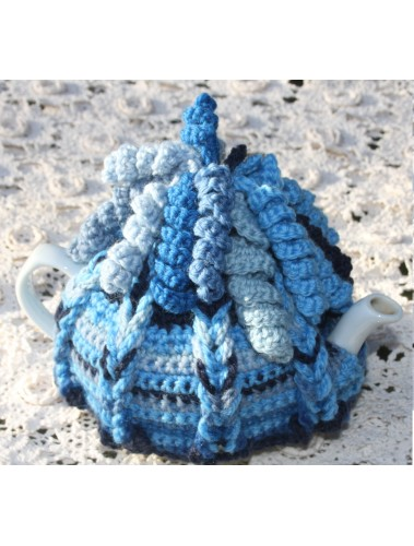 Curly Whirly Tea cosy Pattern