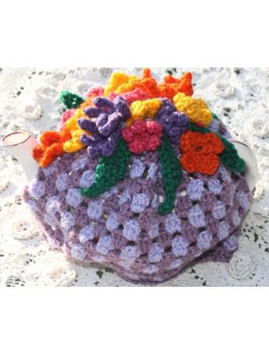 Flower Power Tea cosy Pattern