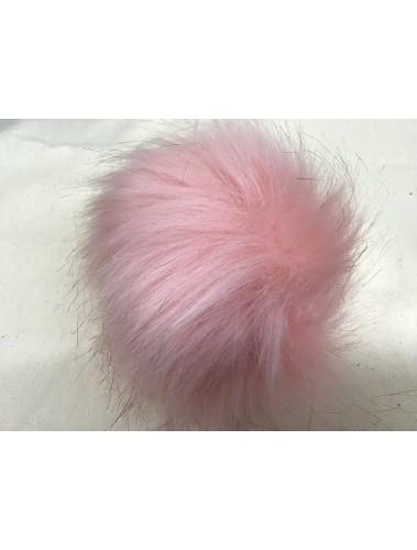 Fluffy Pom Pom 10cm Pink