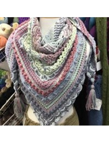 Lost In Time Shawl Kit