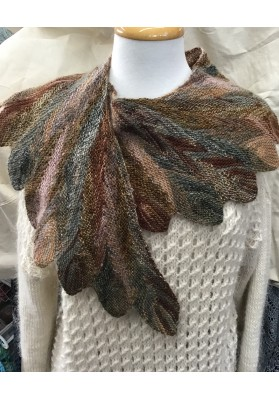 Leaf Shawl Kit