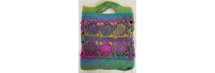 Crochet Flower Tote Kit