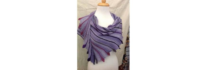 Fairy Wings Shawlette Kit