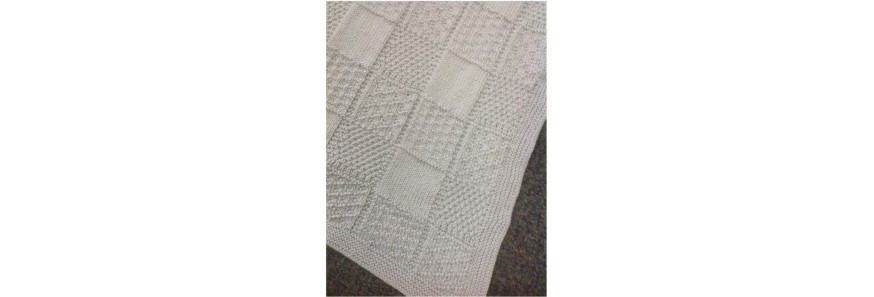 Textured Baby Blanket Kit
